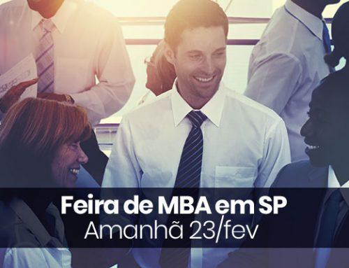 Feira de MBA em SP – Amanhã 23/fev
